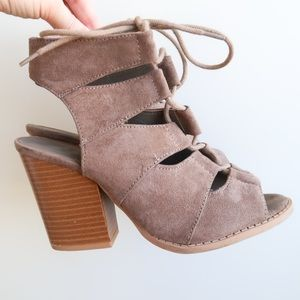 Qupid Suede Booties